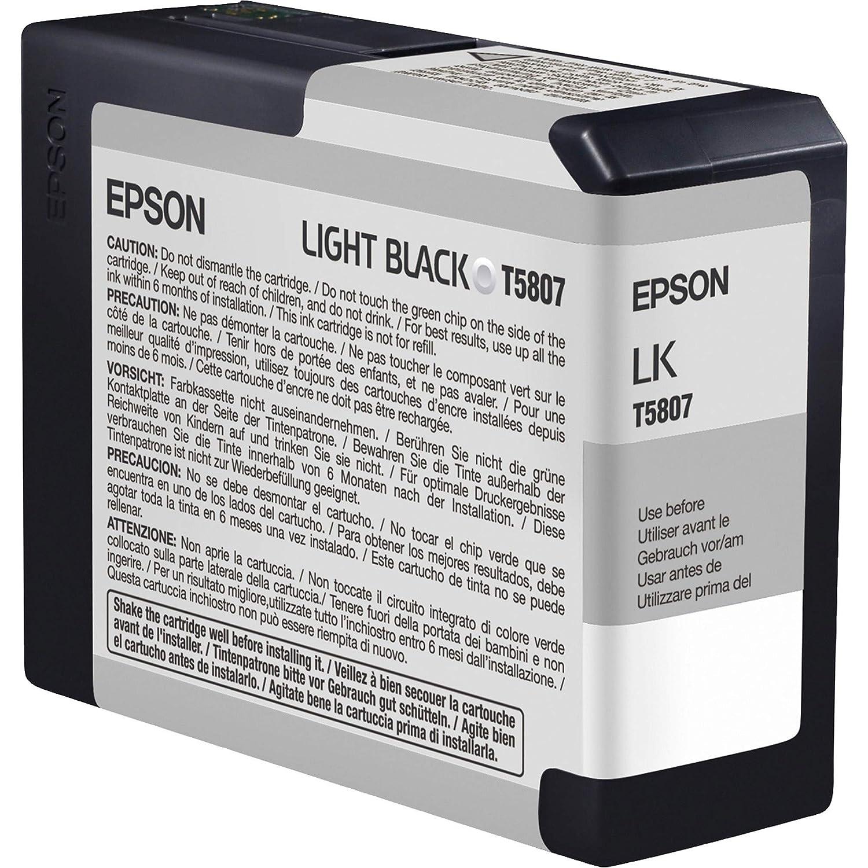 Epson - Stylus pro 3800 ultrachrome k3 light black cartridge ...