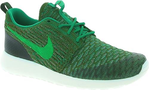 Nike Damen WMNS Roshe One Flyknit Turnschuhe, Verde (Rough