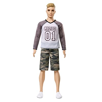 Barbie Ken Fashionistas Camo Comeback Doll: Toys & Games