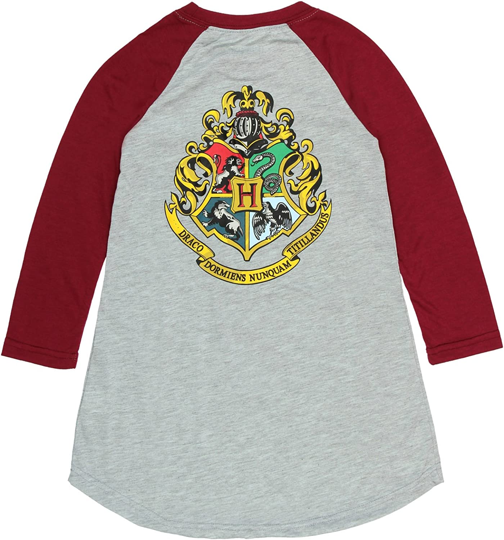 Intimo Grandes Filles Harry Potter L//s Robe Raglan Poudlard 6//6X