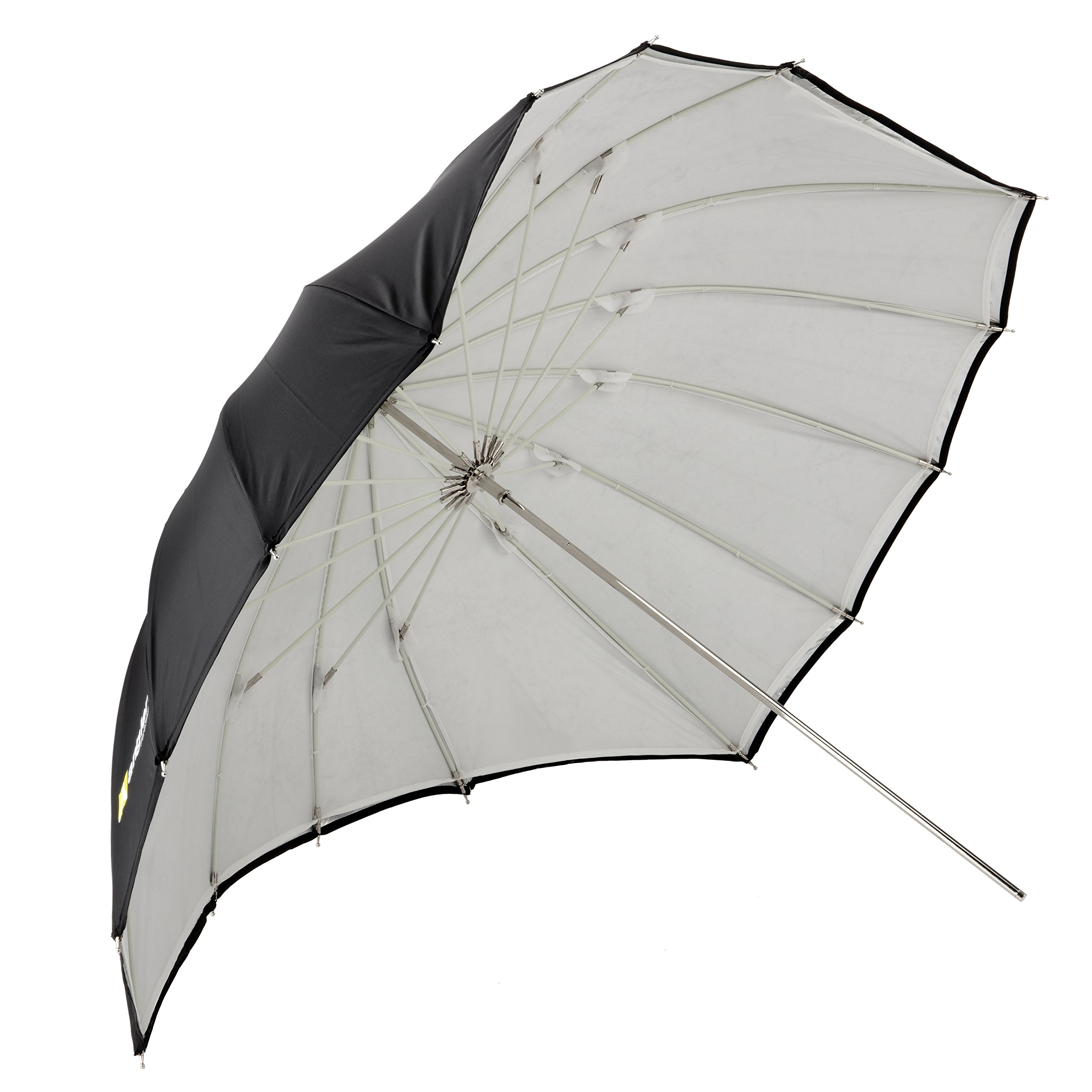 Angler ParaSail Parabolic Umbrella (White with Removable Black/Silver, 45'''')''