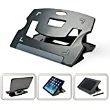 MAX SMART Tablet Drawing stand for Digital Graphic Tablet, Office Laptop Stand Riser Folding Thin Adjustable Angles for Laptop/Tablet/Artisul D13, D10, iPad Pro Wacom Cintiq (gray)