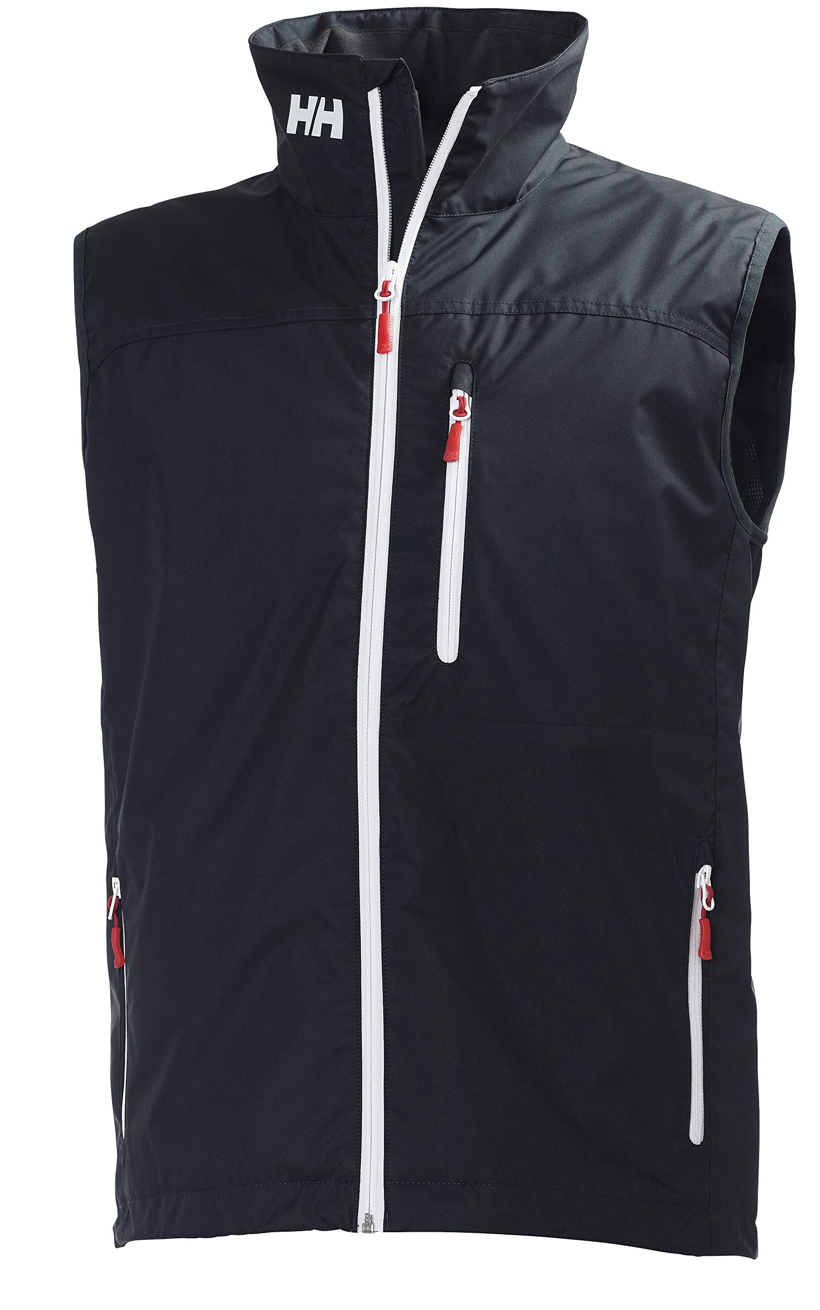 Helly Hansen Men's Crew Vest Waterproof, Windproof, & Breathable Sailing Vest, 597 Navy, X-Large by Helly Hansen