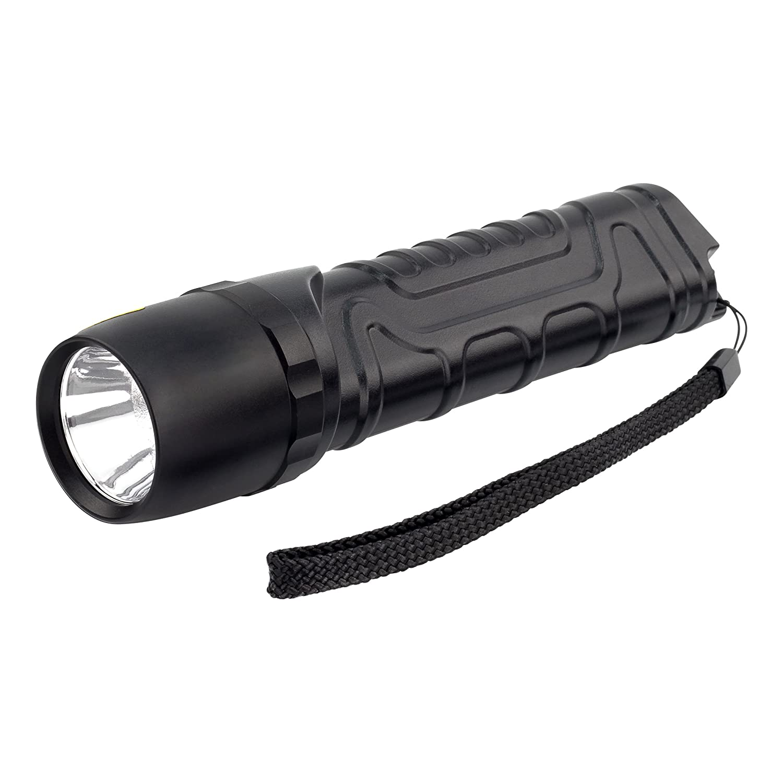ANSMANN Lampe torche à LED M900P/Lampe tactique avec 930 lumens extrêmement lumineux et 4 fonctions/Étanche à la poussière et à l'eau - IP67 1600-0162