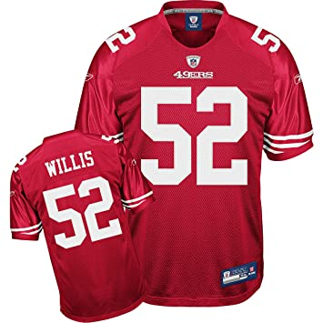 cheaper df42b a09da Amazon.com : Reebok San Francisco 49ers Patrick Willis ...