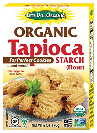 Let's Do   Organic Organic Tapioca Starch, 6 Ounce Boxes (Pack of 6)