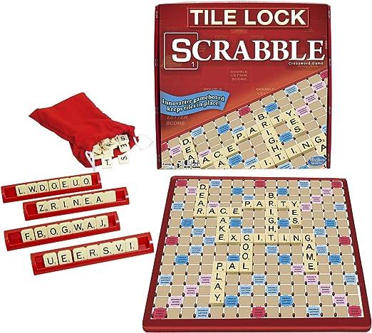 Tile Lock Scrabble: Amazon.es: Juguetes y juegos