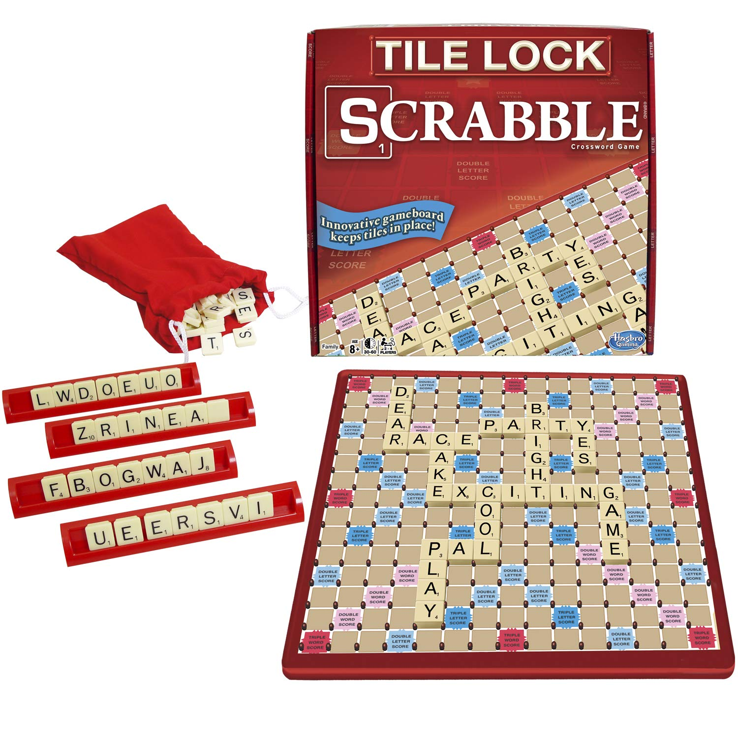 Winning Moves Tile Lock Scrabble by Winning Moves Games