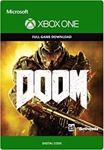 Doom - Xbox One Digital Code: Video Games - Amazon com