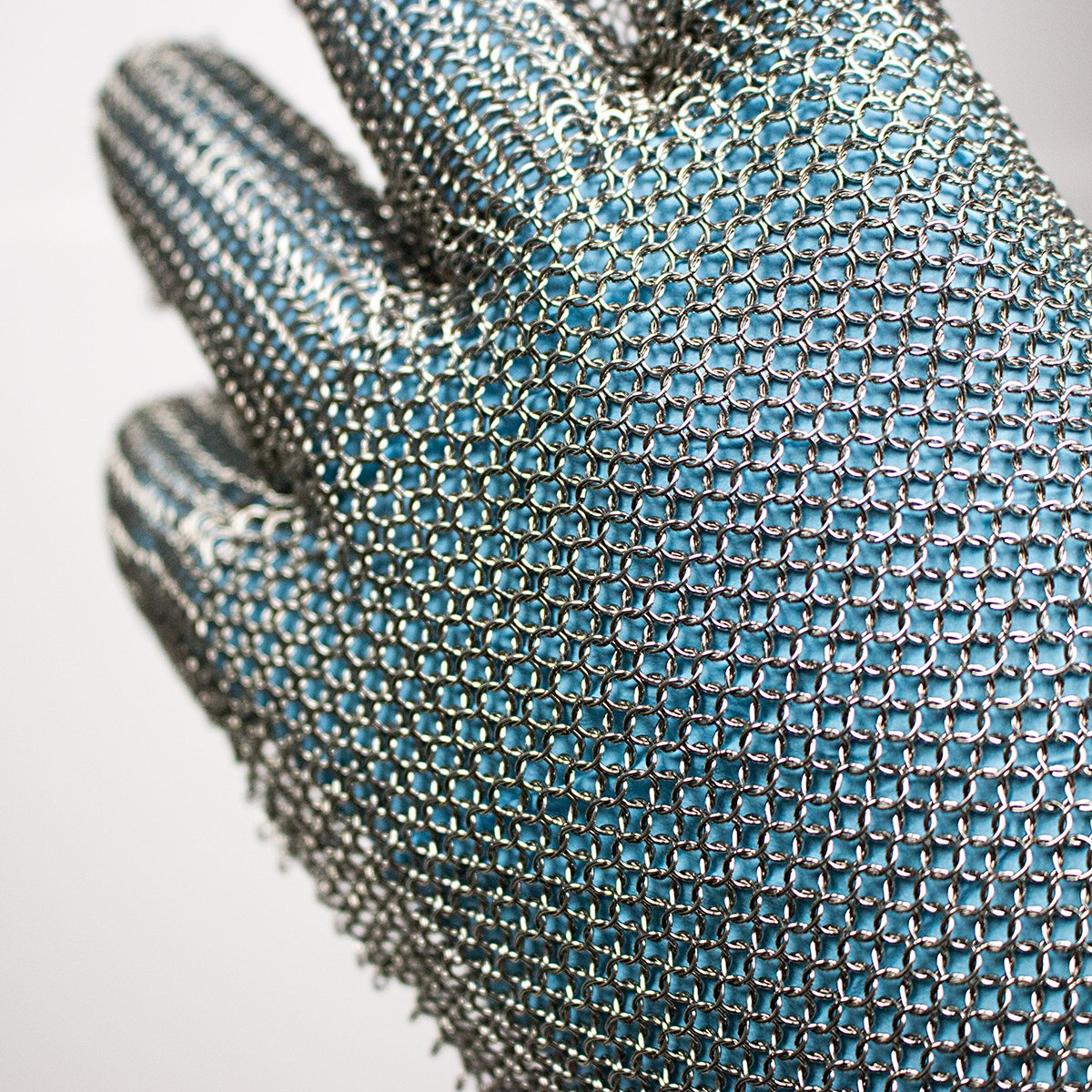 UltraSource Cut Resistant Stainless Steel Mesh Glove, Extended Cuff with Silicone Straps, Size Small (One Glove) by UltraSource (Image #3)