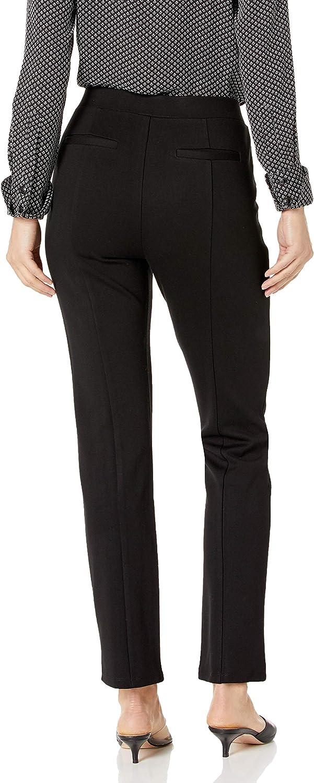 Rafaella Women's Slim Ponte Short Inseam Comfort Pant at  Women's Clothing store