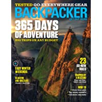 1-Year (10 Issues) of Backpacker Magazine Subscription