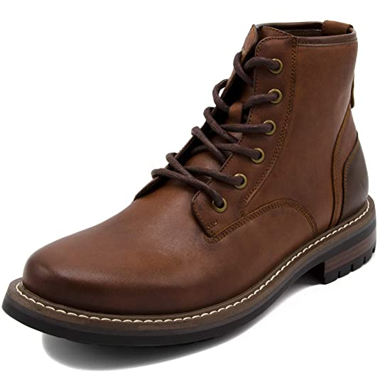 Nautica lace up boots for men