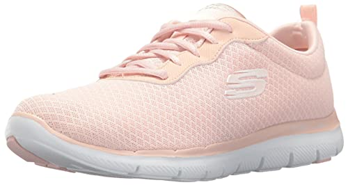 Skechers Ultra Flex-Statements, Zapatillas Para Mujer, Rosa (Light Pink), 37 EU