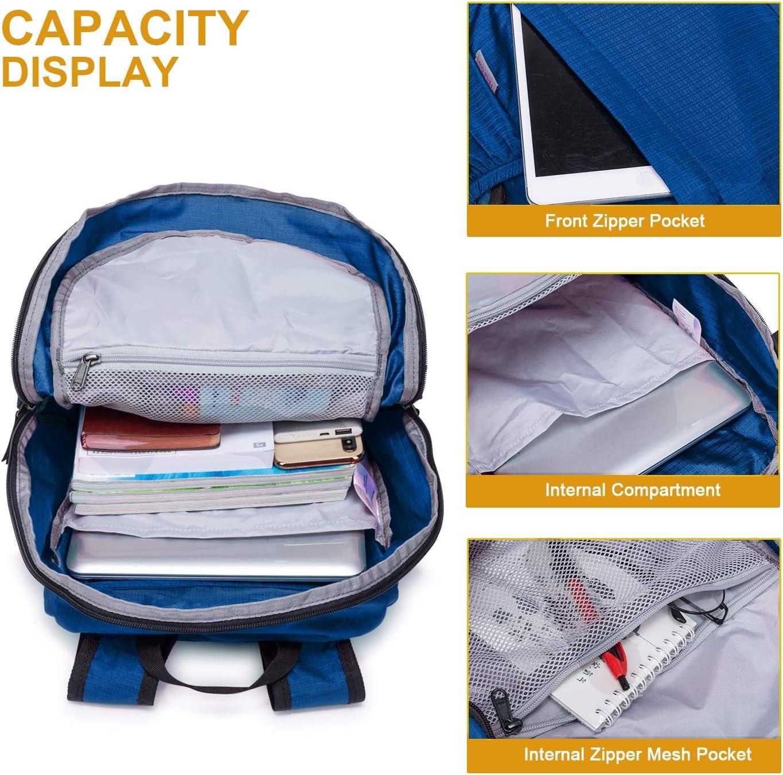 Folding Sport Backpack Hawaii Sunet Drawstring Bag Home Travel Storage Use