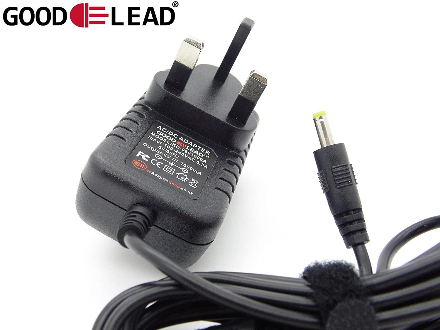 GOOD LEAD XDR S10DAB XDRS10DAB DAB Radio Compatible 6V MainsPower Supply Adapter charger