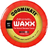 Dominate Original Waxx Hair Styling Wax, Strong Hair Hold With A Wet Look, 85g