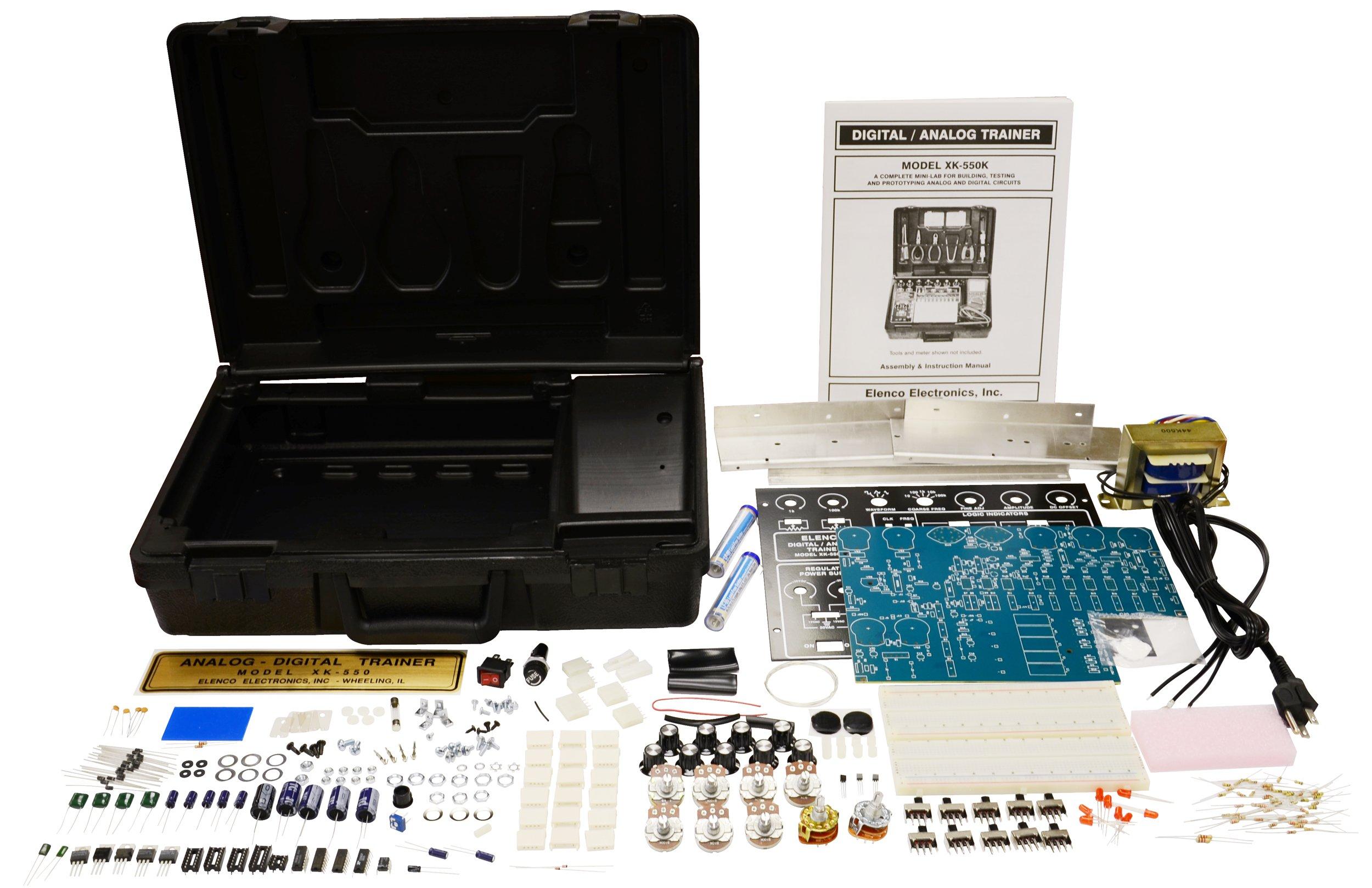 Elenco XK550K  Variable Power Supply XK-550 in Kit Form