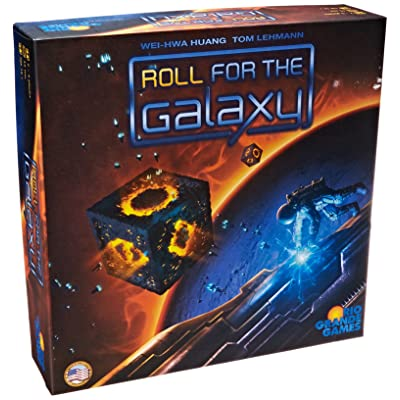 Roll for The Galaxy Board Game: Toys & Games