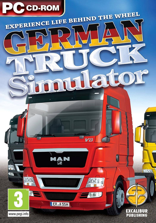 German Truck Simulator (PC CD) [Importación inglesa]: Amazon.es: Videojuegos