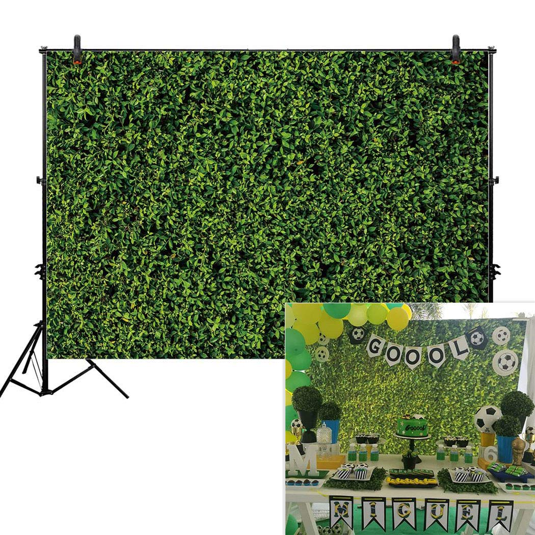 Allenjoy 7x5ft Nature Green Lawn Leaves Backdrop for Photography Grass Floordrop pictures Background Spring Party Ground Decor Outdoorsy Theme Newborn Baby Shower Lover Wedding Photo Studio Props Drop by Allenjoy
