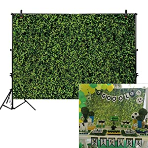 Allenjoy 7x5ft Nature Green Lawn Leaves Backdrop for Photography Grass Floordrop pictures Background Spring Party Ground Decor Outdoorsy Theme Newborn Baby Shower Lover Wedding Photo Studio Props Drop