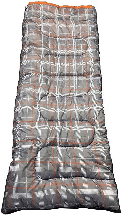 OL:Pro Olpro – Hush Saco de Dormir Unisex, Color Gris/Naranja,