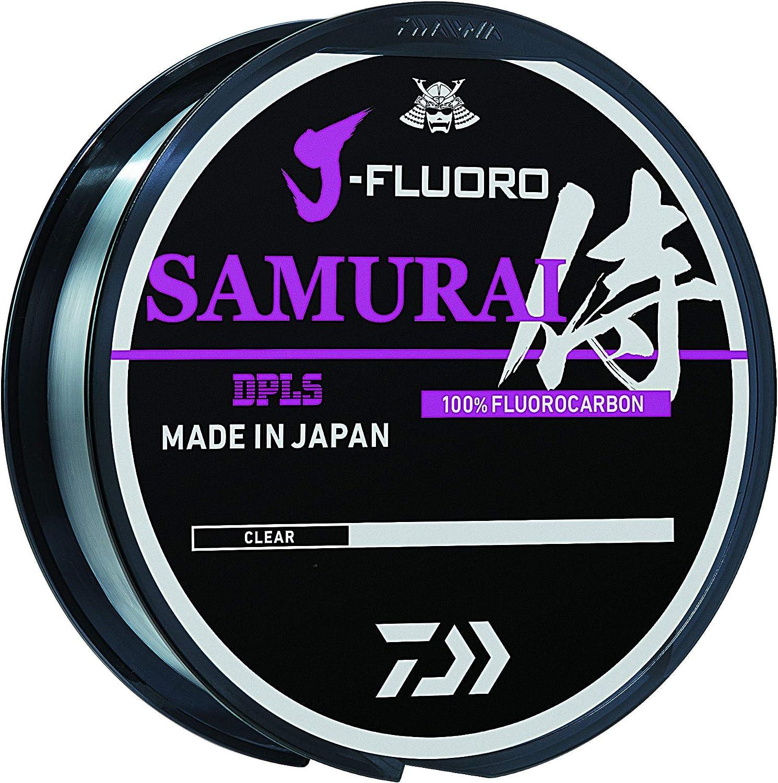 Daiwa J-Fluoro Samurai Fluorocarbon Fishing Line 220YD Select LB Test