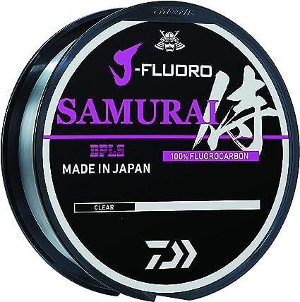 Spool Choice of Sizes 220 Yd Daiwa J-Fluoro Samurai Fluorocarbon Line