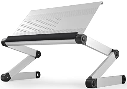 amazon com workez executive adjustable height angle ergonomic rh amazon com computer stands for desk nz computer table for desktop