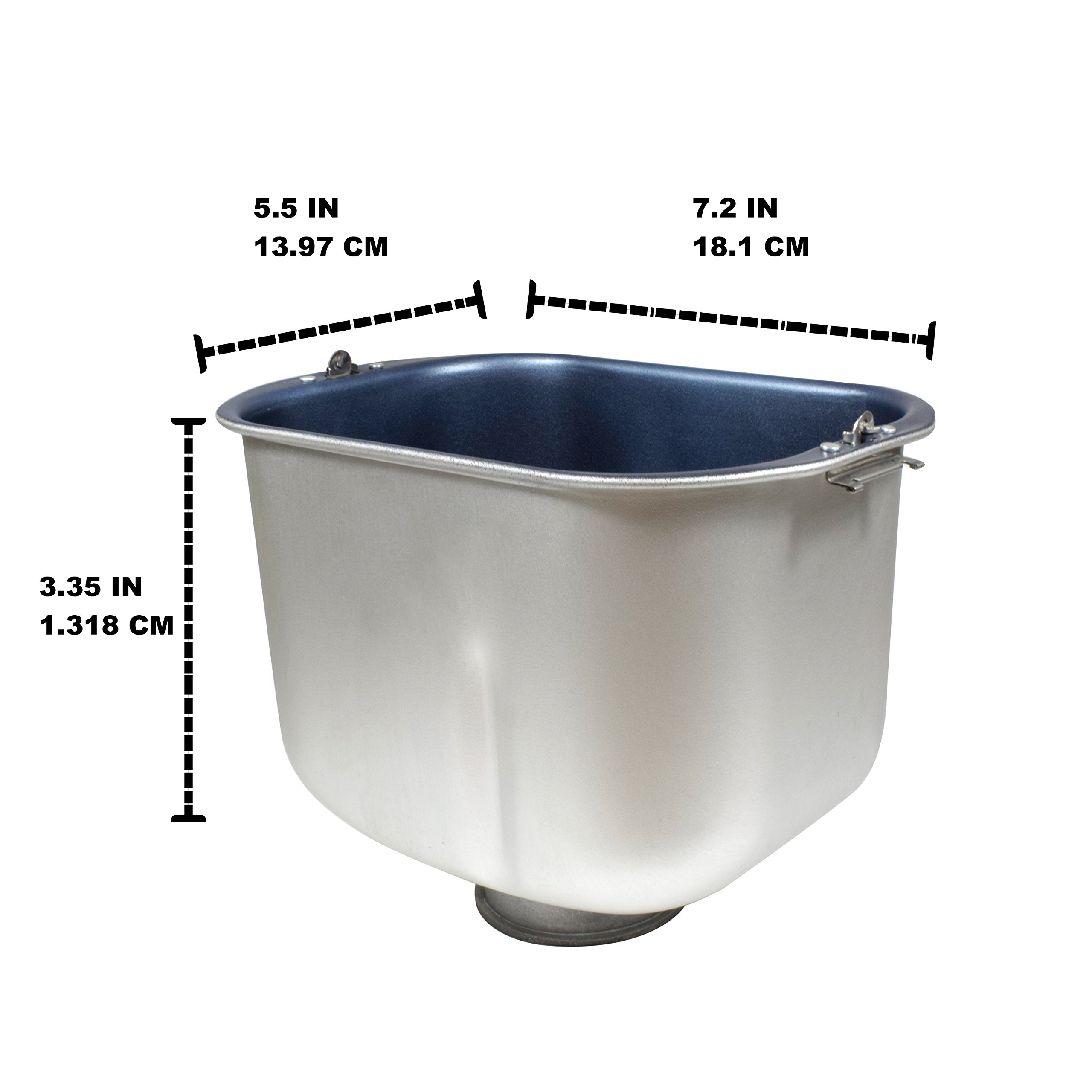 Univen (102529-000-000) Breadmaker Bread Pan Replaces Sunbeam Oster by Univen (Image #5)