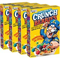4-Pack Cap'n Crunch Crunchberries, 13 Ounce