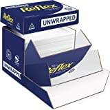 Reflex Australian Made Ink Wise Reflex Unwrapped Office Copy Paper, A4, 2500 Sheets, Bulk Box, White, (161008)