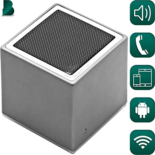 Bluetooth True Wireless Portable Speaker Receiver Can Be Paired HD Crystal Clear Stereo, Noise Canceling, Balanced Bass iPhone Android Compatible, Powerful Built-In Battery Mic
