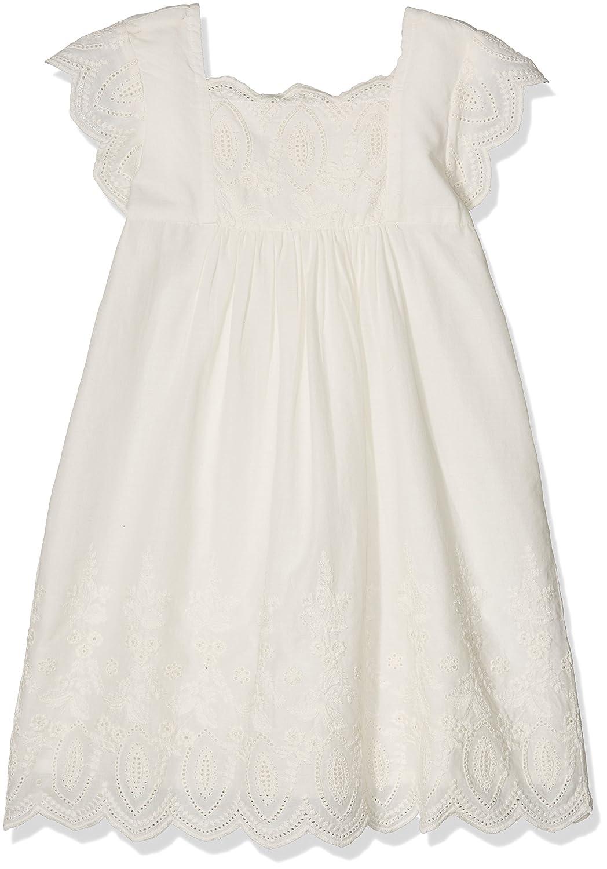 e0f21d55493 Noa Noa Miniature Girl's Mini Anglaise Dress Off-White (Chalk 2) 98 cm (3  Years): Amazon.co.uk: Clothing