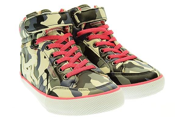2018 Venta Online Nuevos Estilos Precio Barato DRUNKNMUNKY junior sneakers alte BOSTON CAMU 228 rosa/CAMU 31 Beige-Grigio-Avio-Nero Tienda De Espacio Libre Barato l6RNc