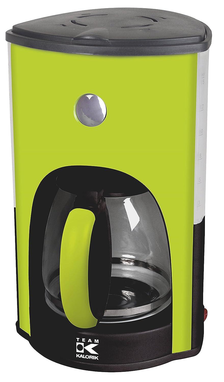 Team Kalorik Coffee Filter Maker, 1.8 L Capacity for 15 Cups, Glass Jug,  1000 W, Apple green, TKG CM 1045 AG: Amazon.co.uk: Kitchen & Home