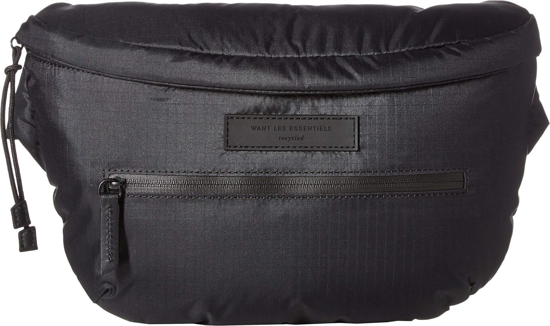 WANT Les Essentiels Men's Fillmore Waist Pack, Black, One Size