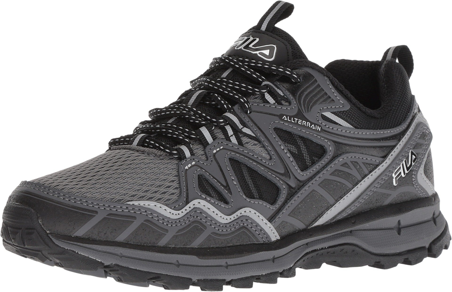 Fila Men's Memory TKO Tr 5.0 Trail Castlerock/Dark Shadow/Black 1 10.5 D US by Fila