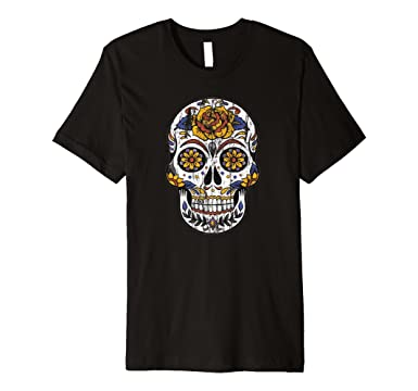 Mens Dia de los Muertos T-Shirt - Day of the Dead T-Shirt