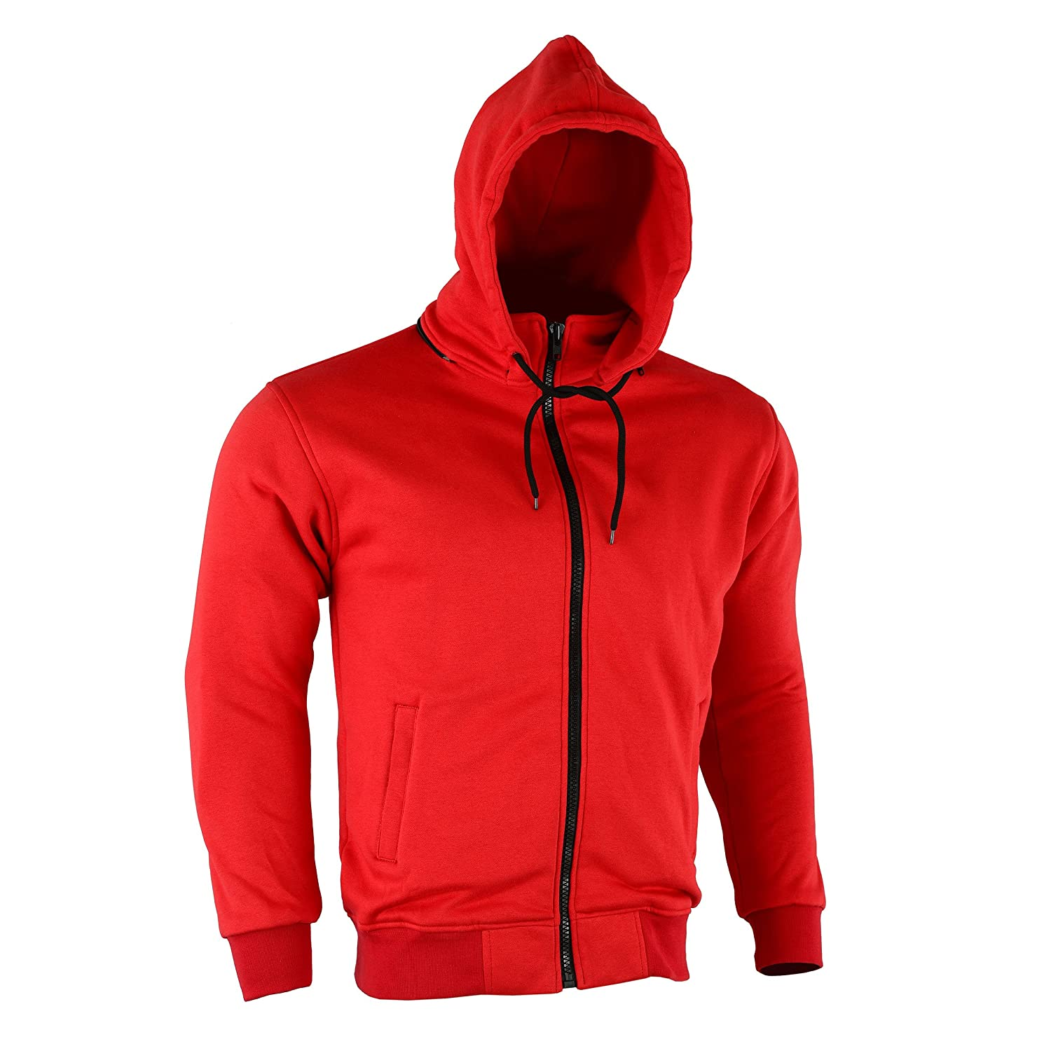 Motorcycle Motorbike Protective Casual Summer Camouflage CE Approved Removable Bikers Zip Up Fleece Hoodie Hood Jacket S 5XL