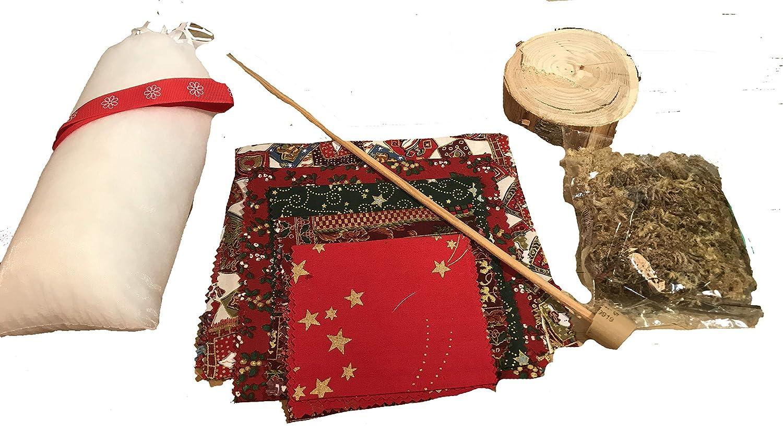 DIY Kit de pino de navidad con triángulos de miregalodifertente.com: Amazon.es: Handmade