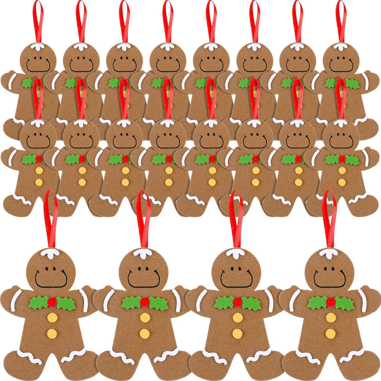 One gingerbread man flatback embellishment 20mm x 20mm novelty Christmas decoration Xmas craft supplies cute resin figure card making FB009