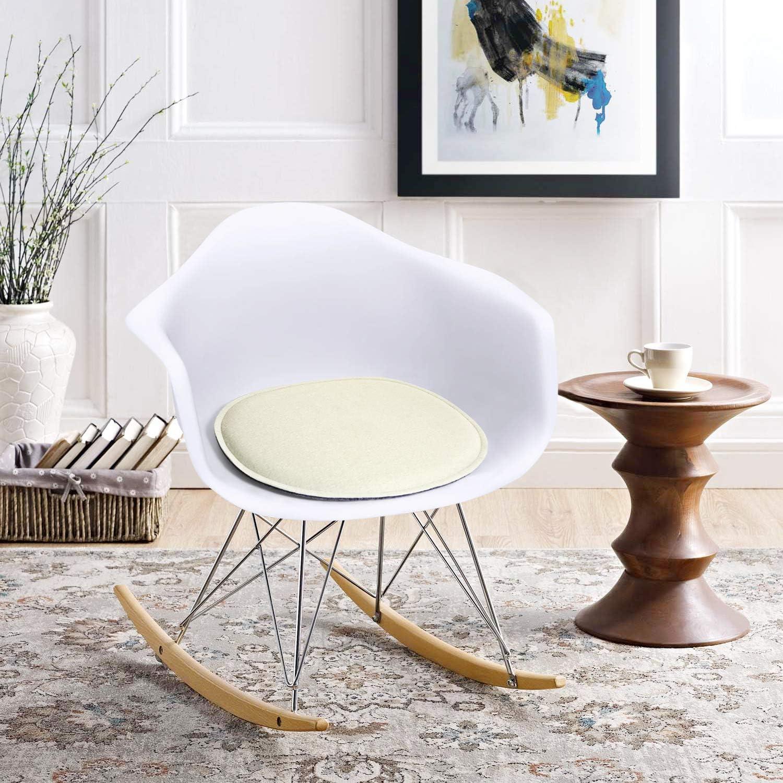 100/% wool felt Eames Side Chair seat cushion felt chair cover farn color felt seat pad