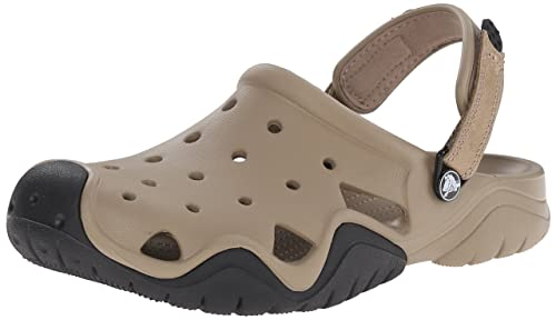 242aa4251871 crocs Men s Swiftwater Espresso and Black Clogs and Mules  Buy ...