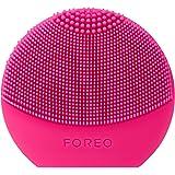 FOREO LUNA play plus spazzola viso portatile Fuchsia, Spazzola impermeabile con batteria sostituibile