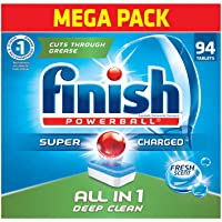 Merveilleux Finish   All In 1 94ct   Dishwasher Detergent   Powerball   Dishwashing  Tablets