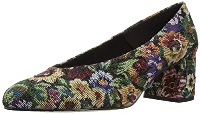 f381d14339f64 Bella Vita Women's Jensen Dress Pump, Tapestry Fabric, 9 M US: Buy ...