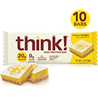 Deals on Think High Protein Bars Lemon Delight 10 Count