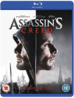 Amazon Com Assassin S Creed Blu Ray Michael Fassbender Marion
